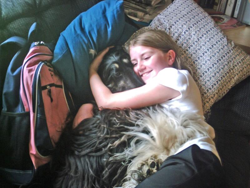 Katie and Luna
